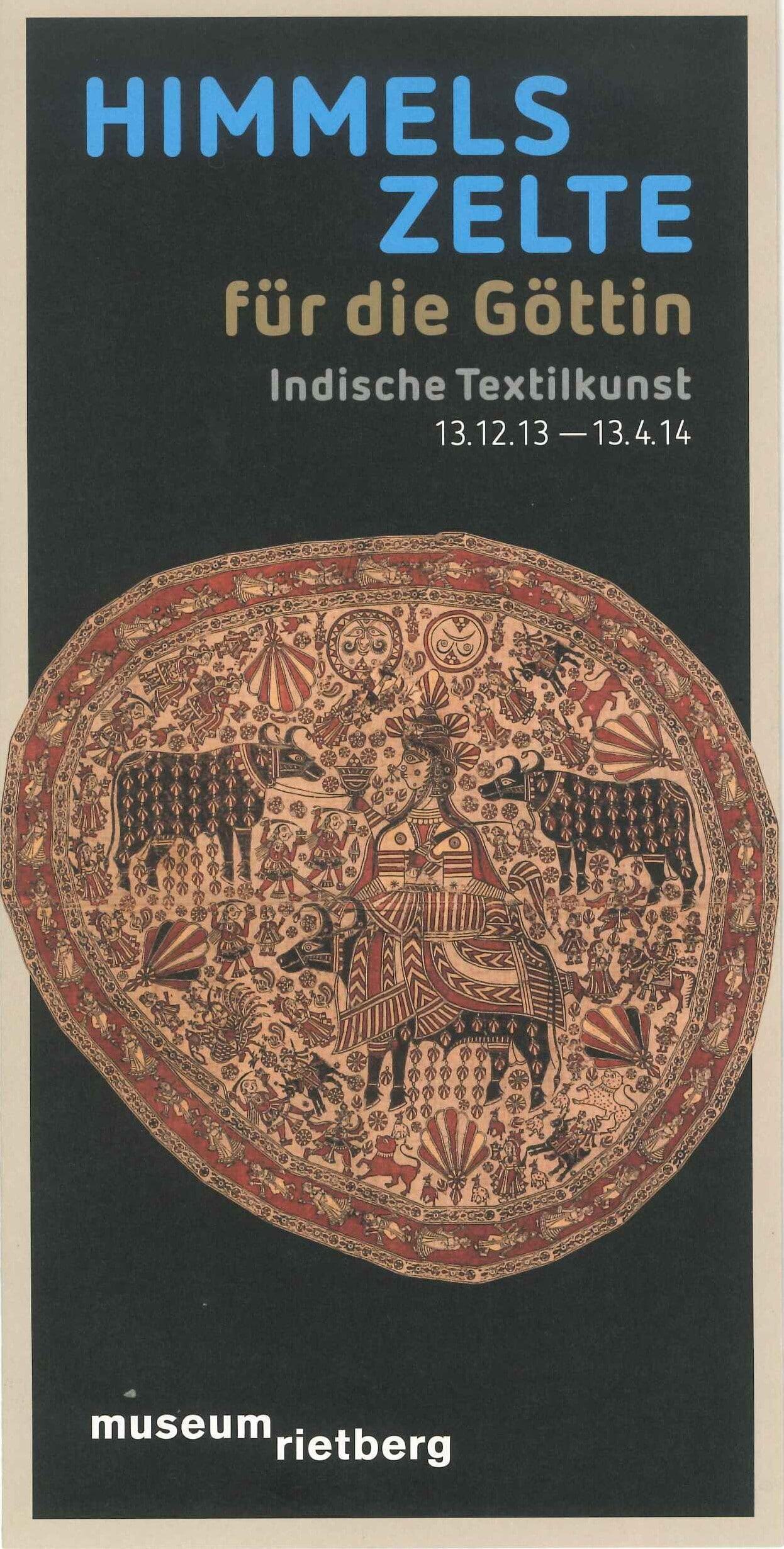 Himmelszelte für die Göttin - Indische Textilkunst