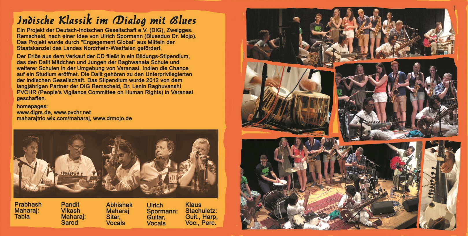 Indische Klassik im Dialog mit Blues - CD